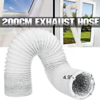 """Universal Portable Air Conditioner Exhaust Hose Tube - 5""""/6"""" Width Extra 71"""""""