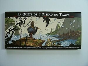 """Portfolio / 18 Carte postales """" La quête de l'oiseau du temps """" / 500 ex / 2008"""