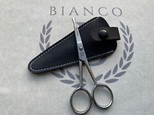 Nose Hair Scissors Men Mustache Beard Trimming Eyebrows Stainless Steel USA Made