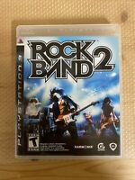 Rock Band 2 (Sony PlayStation 3) PS3 GAME COMPLETE. MINT