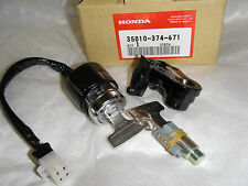 Honda CB750 750 Key Ignition Switch 125 200 250 350 360 500 550 35010-374-671