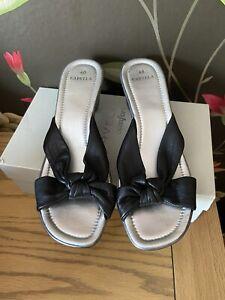 Carvella Kurt Geiger Sliders Sandals Size 6.5 Size 7 Comfortable Lovely On