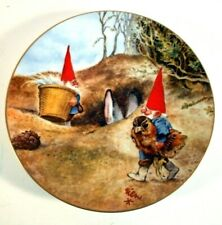 Legends of the Gnomes Collector Plate Gnome Know How 1983 Rien Poortvliet