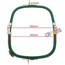 "1Set Embroidery Hoop (1 frame+1 ring) 413MM*342MM- 355MM Wide (14"") For Tajima"