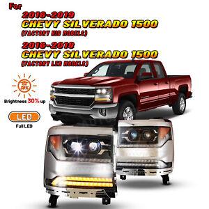 Unbranded Headlights For 2017 For Chevrolet Silverado 1500 For Sale Ebay