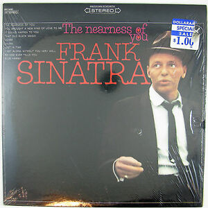 FRANK SINATRA The Nearness Of You LP NM- NM-