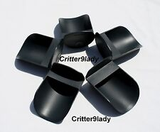 NEW Tupperware Lot of 5 Canister Rocker Scoops Black