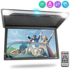 Pyle PLRV1925 Vehicle Flip-Down Roof Mount Monitor, HD 1080p, HDMI/USB/ Micro SD