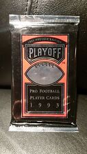 1993 Preview Edition Playoff Football Sealed Pack Cards Donruss