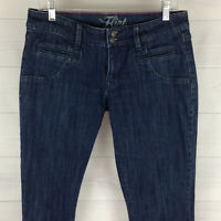 Old Navy The Flirt Womens Size 8 Stretch Blue Dark Wash Skinny Slim Denim Jeans