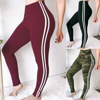 Women's High Waist Stretch Legging Fitness Yoga Pant Athletic Gym Sport Trousers