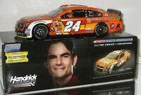 2014 JEFF GORDON #24 AARP/HUNGER AWARENESSS MONTH DUAL AUTOGRAPHED 1/24 CAR#652