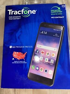 """LG Premier Pro Plus 32GB TracFone 6.1"""" Android Smartphone Factory Sealed NEW"""