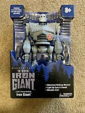 "Goldlok The Iron Giant 14"" Motorized Walking Iron Giant New In Box"