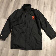 Kariban Black Parka Coat Jacket. Mens Size Large