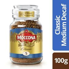 Moccona Classic Medium Decaffeinated Instant Coffee 100g
