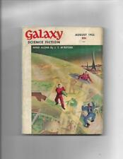 Galaxy Science Fiction Aug 1953 Dome Repairs On Mars Cover!