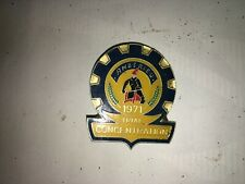 MOTO ANCIENNE TRIAL  INSIGNE BADGE AMBERIEU TRIAL CONCENTRATION 1971