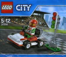LEGO 30314 City Go-Kart Racer 2015 Polybag Sealed