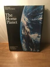 The Home Planet by Jacques-Yves Cousteau (1988, 1st Print, HC, DJ)
