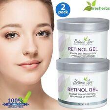 2pc#1 Best Retinol Gel Renew Skin Cells Appearance Wrinkle Anti Aging Cream 4 Oz