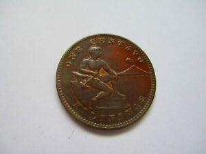 1905 US KM 163 Philippines 1 centavo UNC