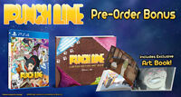 PUNCHLINE (PlayStation 4, PS4) Brand New With Artbook