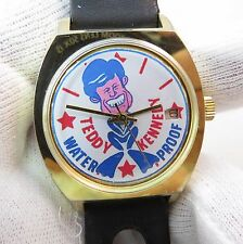 TED KENNEDY,Water Proof Rare Dial 70's,Manual Wind.Date/Just MEN'S WATCH,505