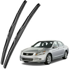 Genuine OEM Front Windshield Wiper Blades For 2008-2012 Honda Accord Full Series