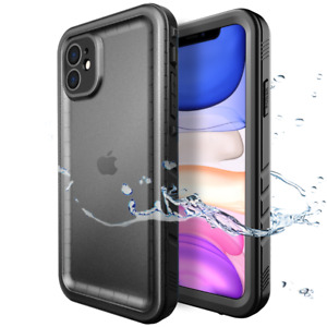 Full Body 360 Waterproof Shockproof Case Cover for iPhone XR 11 12 mini Pro Max