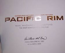 PACIFIC RIM: Man, Machines & Monsters First edition SIGNED by Director Del Toro