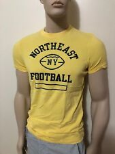 NWT Abercrombie & Fitch Men's Slim Muscle Fit Tee Round-Neck T-Shirt Moose Logo