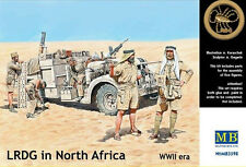 LRDG in North Africa     1/35 Master Box  #  3598