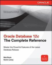 Oracle Database 12c Set by Kevin Loney and Bob Bryla (2013, Hardcover)