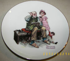 """Norman Rockwell """"TheCobbler"""" Limited Series Collector Plate 6.5"""""""