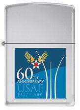 USAF 60th Anniversary Zippo MIB  1947 - 2007  PC