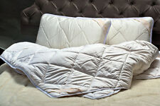 100% Merino Wool Duvet 8-10.5tog King Size DUVET 220 x 230cm +2 PILLOWS 45 x 75