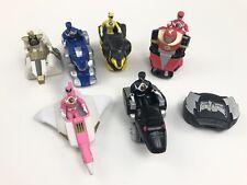Vintage Power Rangers Lot of 6 Vehicles W/ Figures 1995 Saban McDonalds Toys