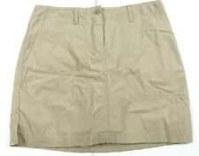 Jones New York Sport 100% Cotton Beige tan Khaki Skort Women's Size 4