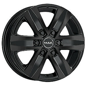Cerchi in lega MAK STONE 6 W GLOSS BLACK compatibile Mitsubishi PAJERO V80 3,2 (