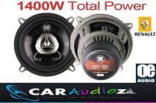 """Renault clio porte avant haut-parleurs 13cm 5.25"""" voiture haut parleur kit 1400W puissance totale"""