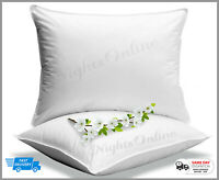 Extra Support 1000 Gram Blended Cotton Thick Pillow Hypoallergenic Made in UK