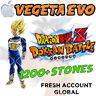 iOS - Dokkan Battle - Vegeta EVO with 1200+ Dragon Stones - Fresh Global