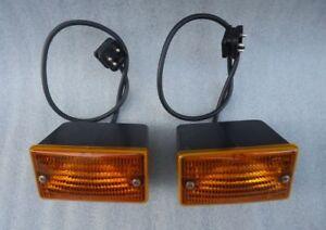 1974-1989 MERCEDES SL W107 380SL 450SL 560SL TURN SIGNAL LAMP SET GENUINE ULO