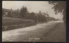 REAL PHOTO Postcard CRICH ENGLAND  Commons Area Houses/Homes 1910's