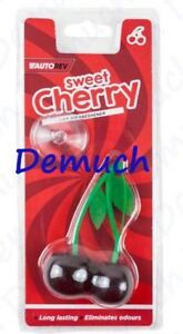 New CHERRY CAR AIR FRESHENER Hanging Car Van Taxi Cab Window Home Office UK ✔