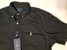 $85 NEW NWT RALPH LAUREN POLO MEN'S TWILL BUTTON UP FRONT SHIRT SZ M L XL XXL 2X