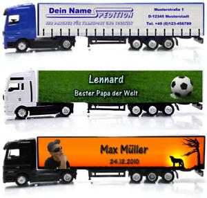 Modell Lkw 1:87 dein Name Foto Logo oder eigene Spedition für Modelleisenbahn