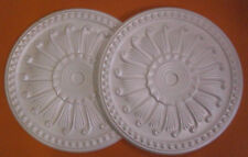 *Decorators Bargain* - 2 x Polystyrene Ceiling Rose 400mm < Slightly Shop Soiled