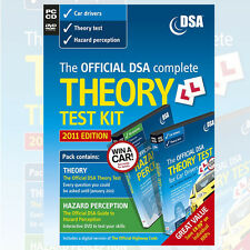 The Official DSA Complete Theory Test Kit (2011 edition) for Car Drivers, NEW